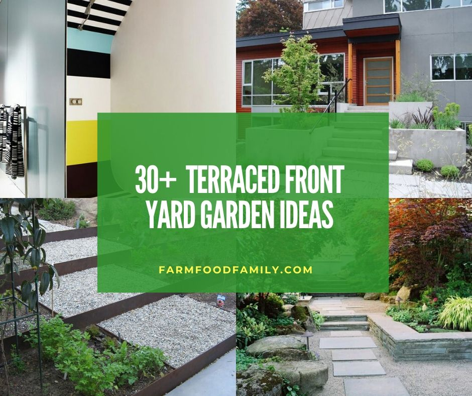 30 Beautiful Terraced Front Yard Garden Ideas Designs For 2020