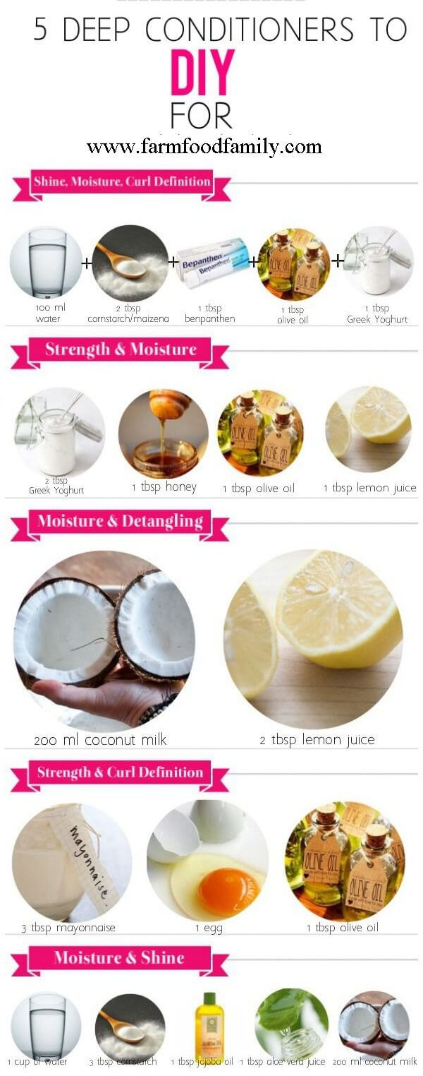 What Is The Best Homemade Deep Hair Conditioner