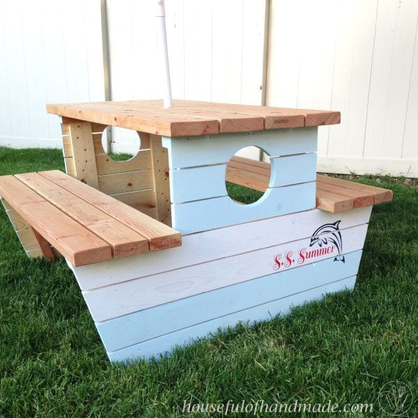 27+ Awesome Nautical Backyard Ideas - Beach-Style Outdoor ... on Nautical Patio Ideas id=42542