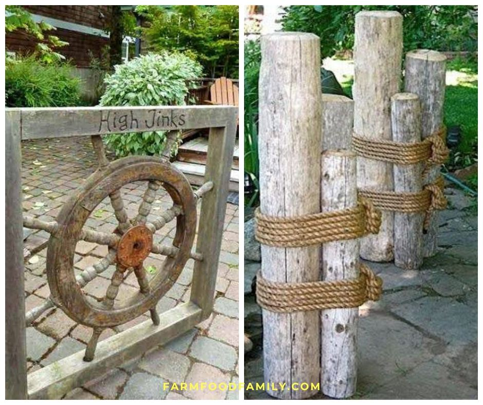 27+ Awesome Nautical Backyard Ideas - Beach-Style Outdoor ... on Nautical Patio Ideas id=83360