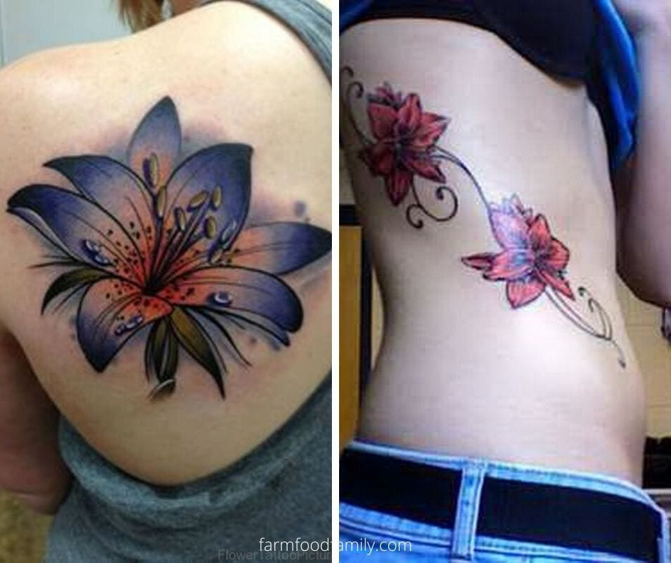 Amaryllis tattoo meaning