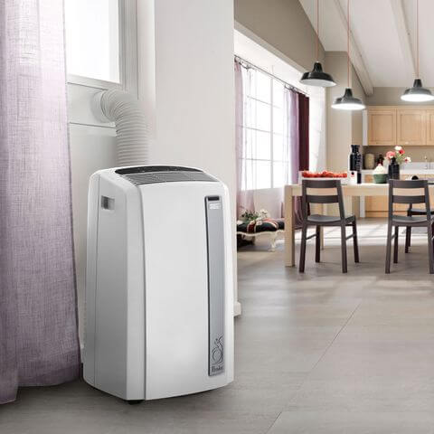 Split type portable air conditioners
