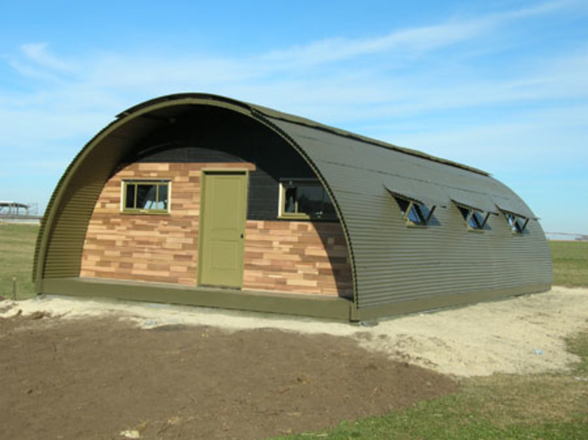 Military-Style Quonset Huts