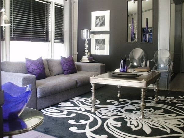 Combining Lilac with Brown-grey and White