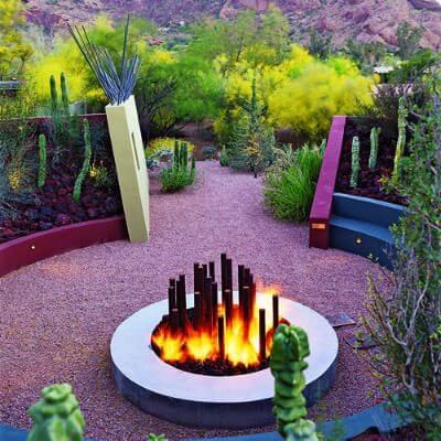 Spare Some Space for Fire Pit