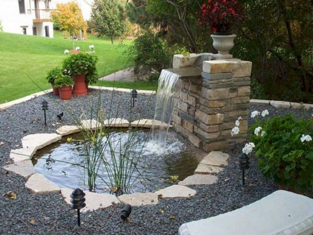 Try Rustic Waterfall