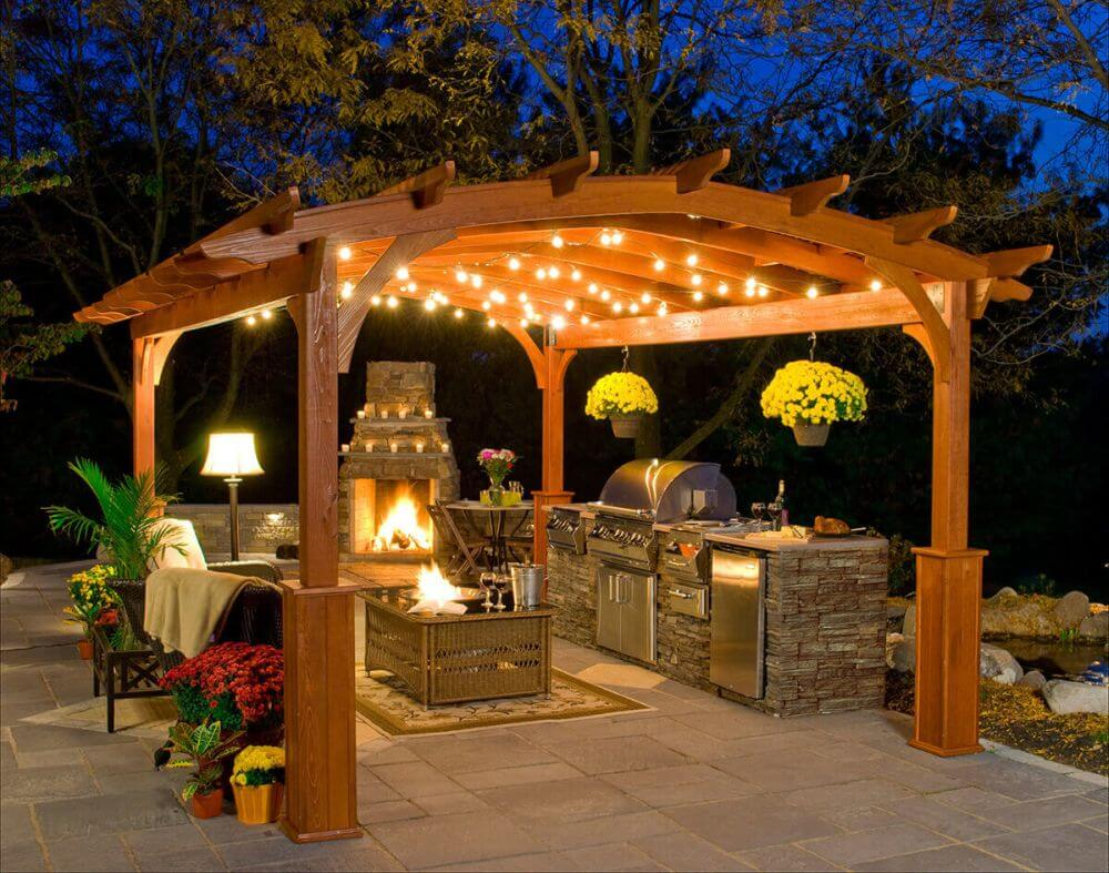 Incorporate Backyard Grill and Living Room