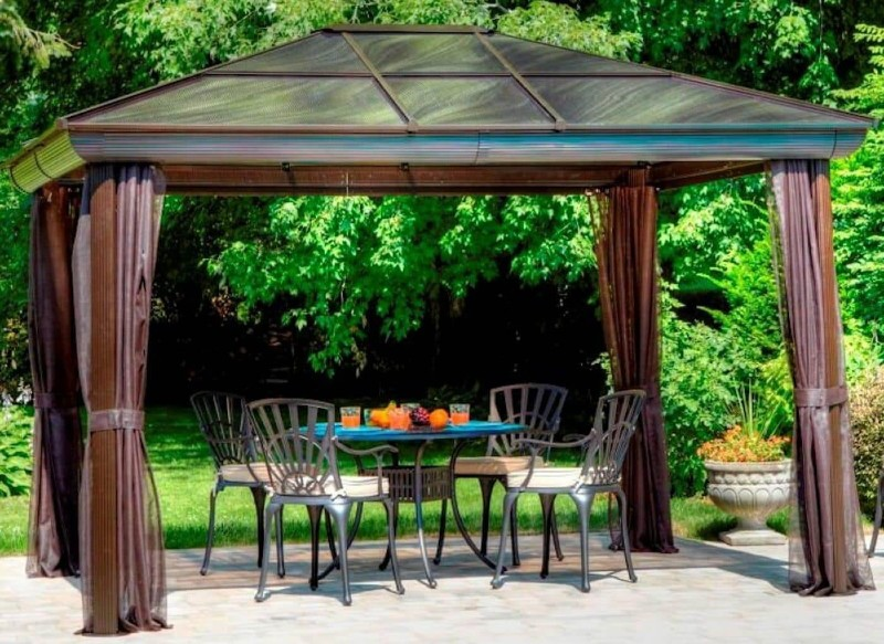 Work with a Strong Standalone Patio Structure