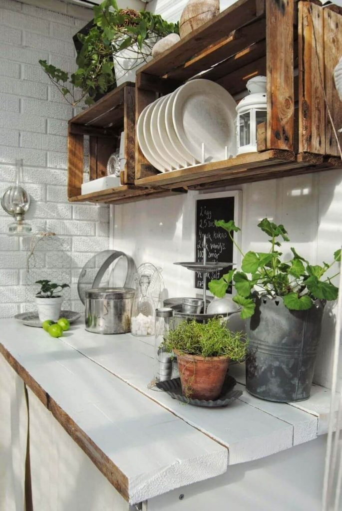 Think of Crate Shelving