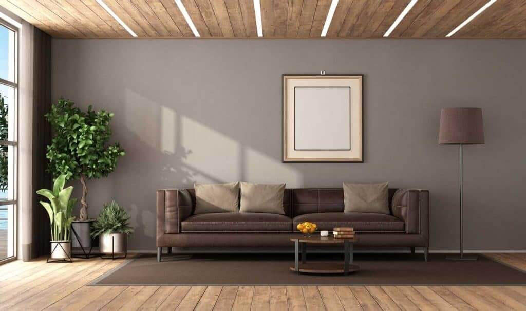 Best Dark Brown Leather Sofa Decorating, Brown Leather Sofa Living Room Ideas