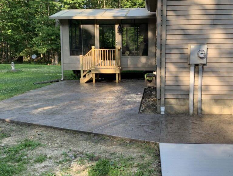 Consider Stamped Concrete Patio