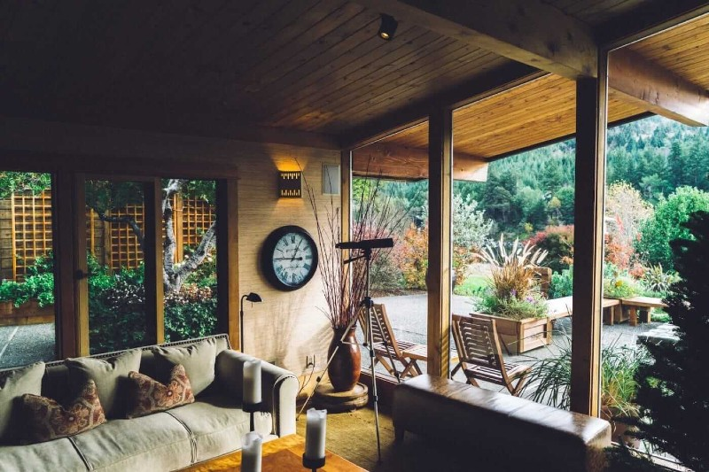 Build a Room with a Permanent Wooden Roof