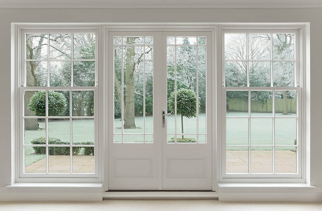 Come up With Industrial Style Your Patio Door