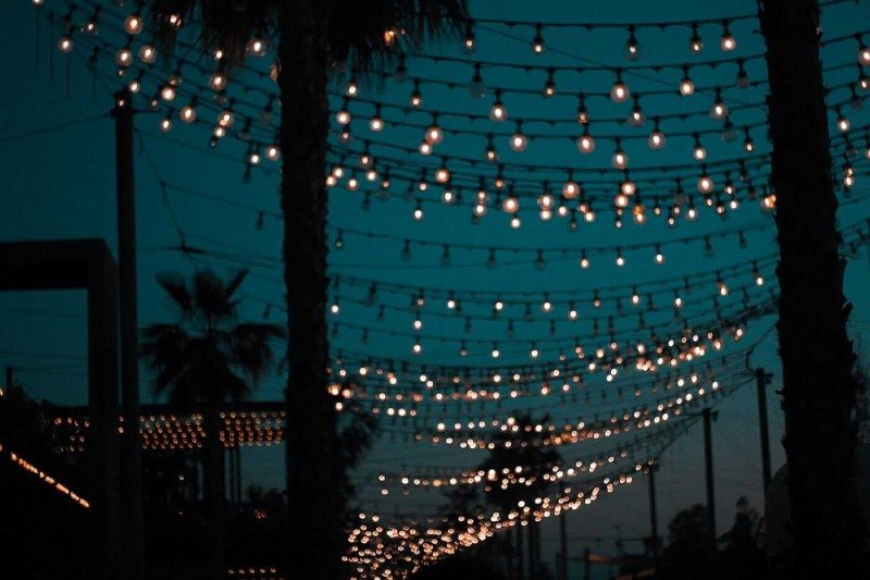 Build a Patio Cover Using Lights