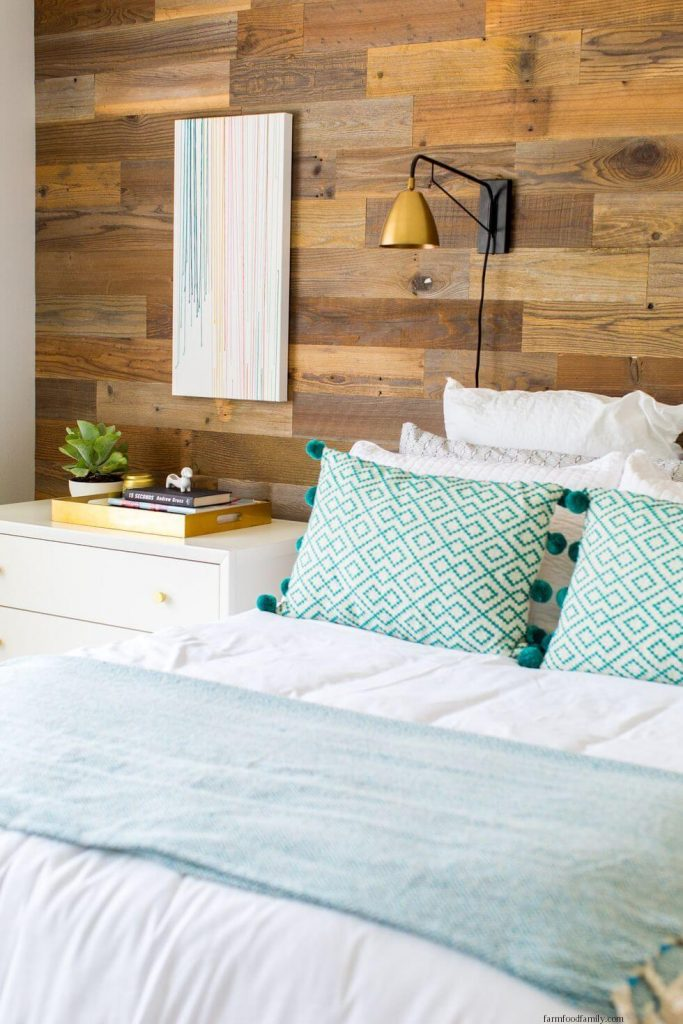 Cover Your Wall with Wood