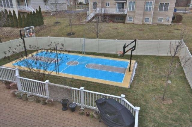 Consider a Traditional Basketball Court