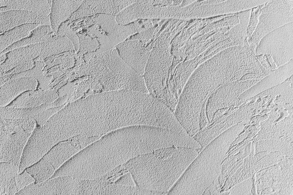 Hand-applied wall texture