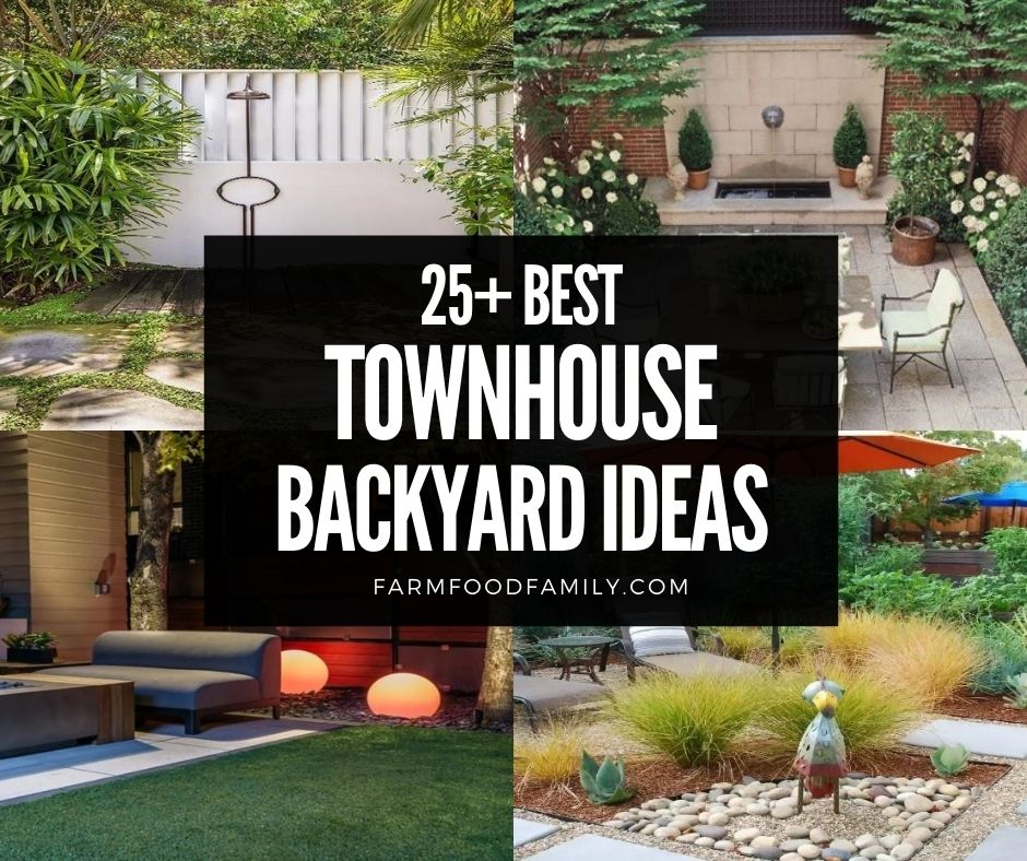 25 Small Townhouse Backyard Ideas Deck Privacy With Pictures 2021