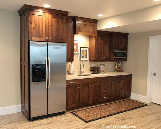 38 Best Basement Kitchen And Kitchenette Ideas On A Budget