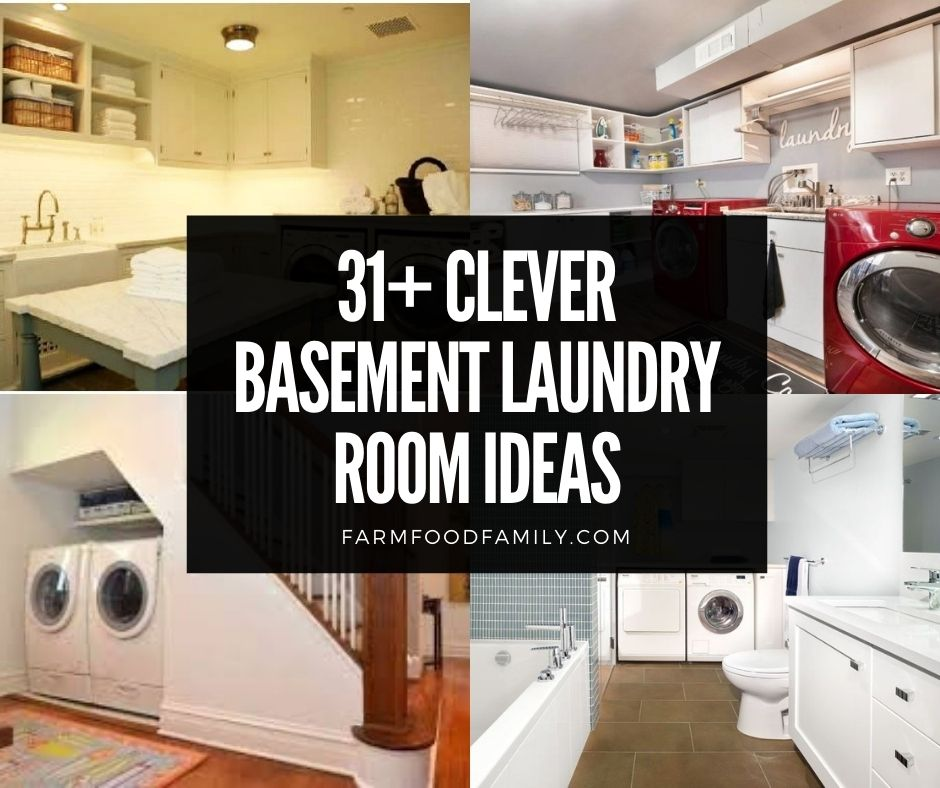 Basement Laundry Room Makeover Ideas On, What Is The Best Flooring For A Basement Laundry Room