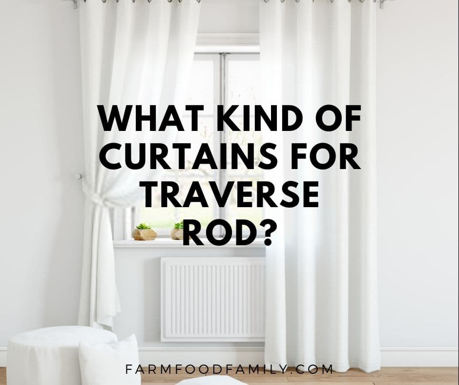 What Kind Of Curtains For Traverse Rod, Decorative Traverse Curtain Rods